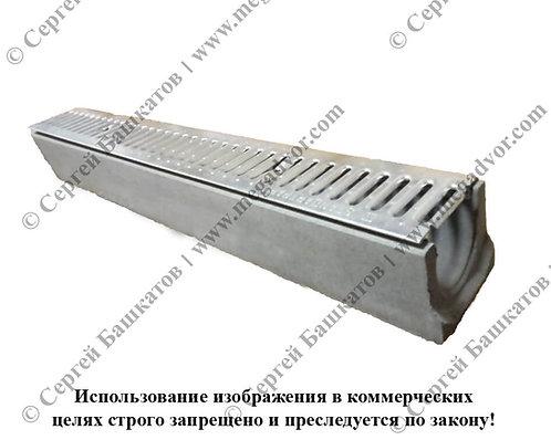 Лоток бетонный (123*140*1000 мм)