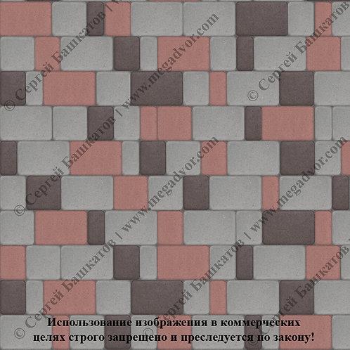 Старый Город Стандарт (серый, красный, коричневый)