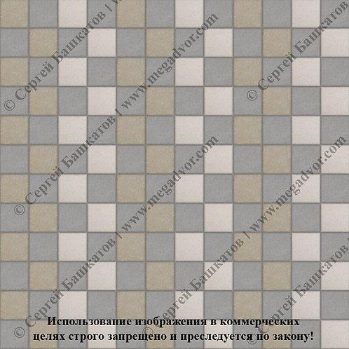 Квадрат 100х100 Стандарт (серый, хаки, белый)