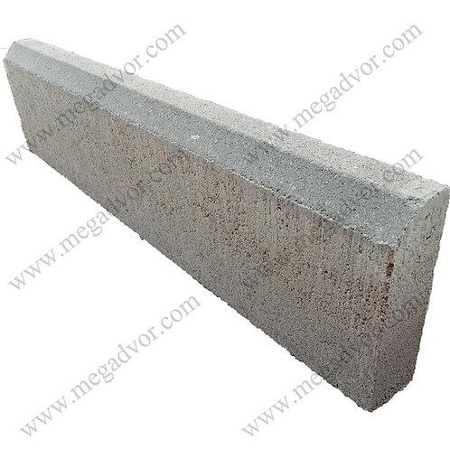 Поребрик бетонный большой (650*200*70 мм)
