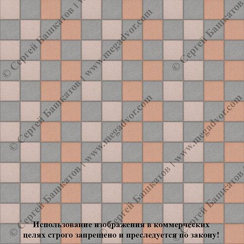 Квадрат 100х100 Стандарт (серый, бежевый, оранжевый)