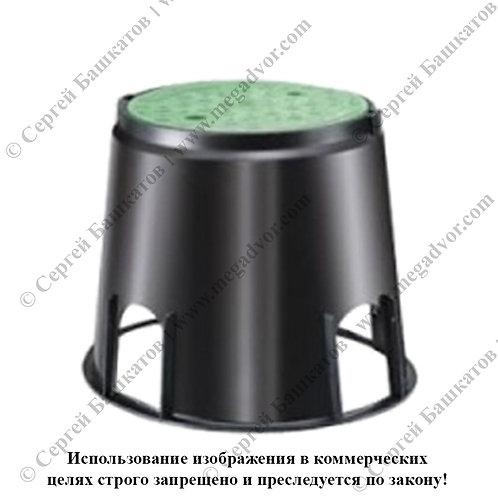 Колодец для монтажа эллектроклапанов малый