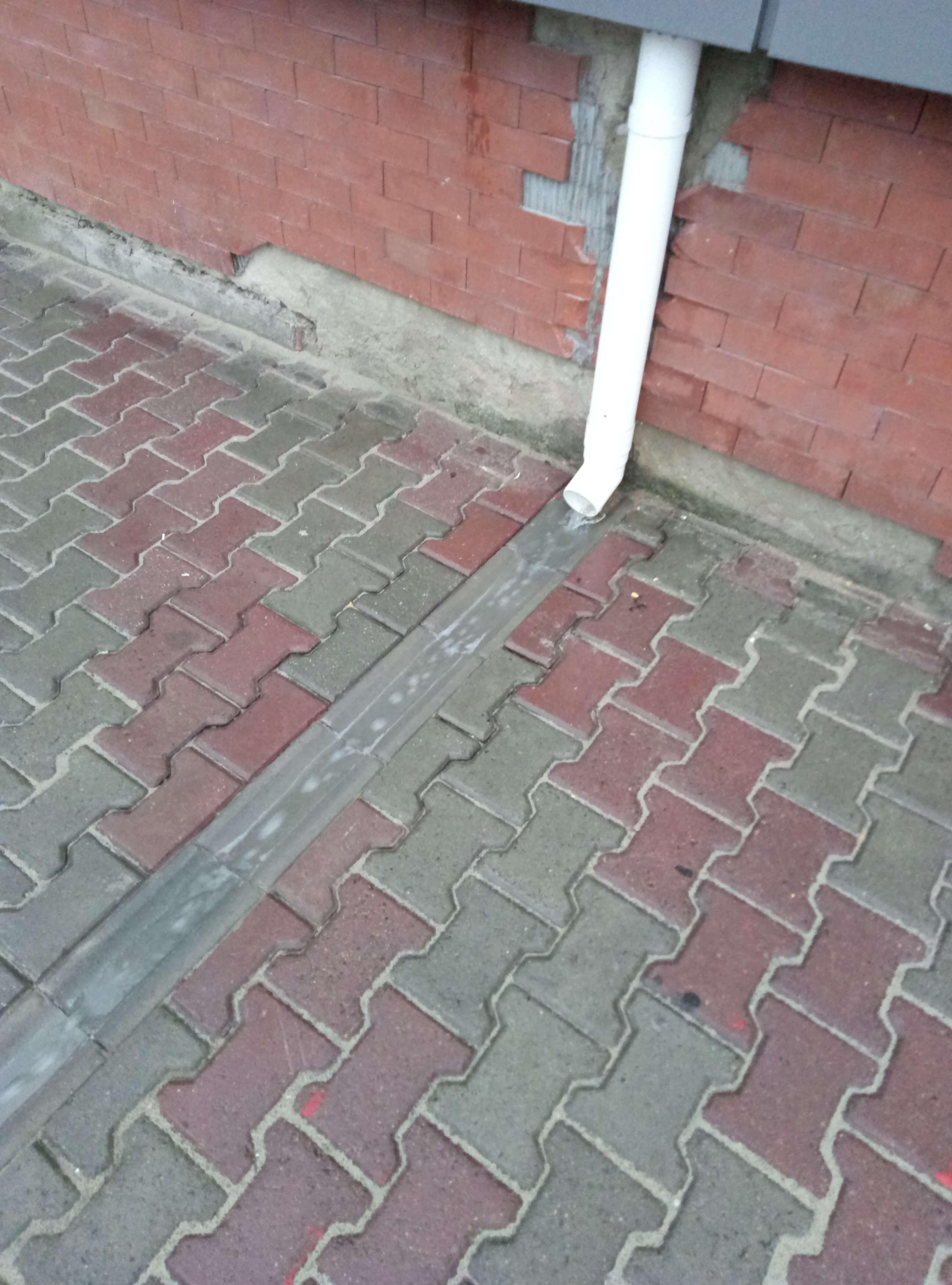 Водосток бетонный