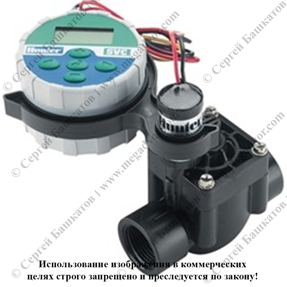 Автономный контроллер системы полива