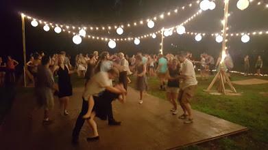 Grand Rapids Swing Dance Outside