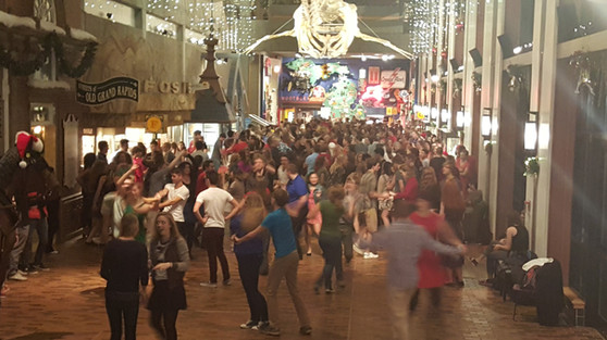 Swing Dance at the Musem