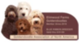 Elimwood GANA Logo Goldendoodle Association of North America Colorado