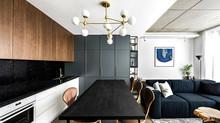 Conforto e Praticidade Neste Pequeno e Moderno Apartamento Lituano