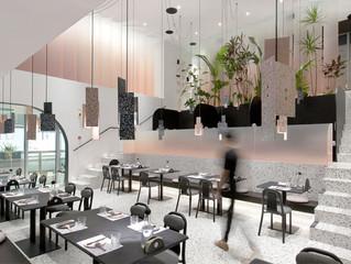 Nós gostamos: Contraste de materiais na feliz ambientação do restaurante Yu Fu Nan em Beijing, China