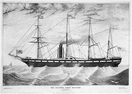 The_Steamer_Great_Western_of_Bristol_RMG
