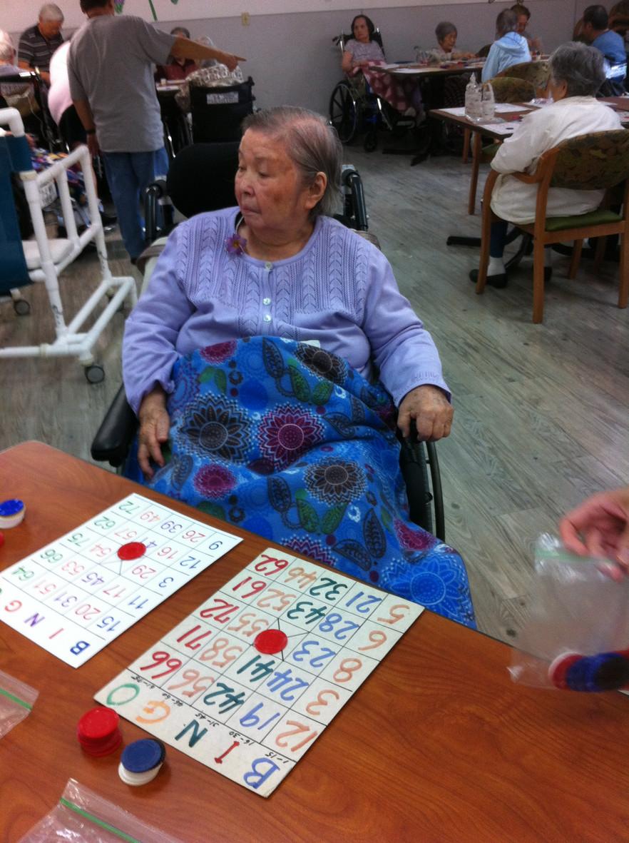 Activities - Bingo
