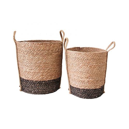 Ebony Base Basket (Set of 2)