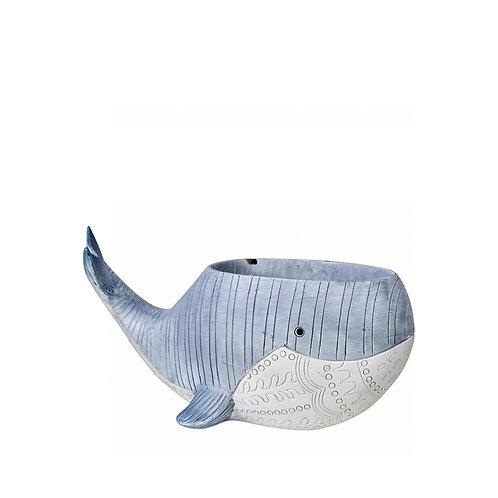 My Blue Whale Planter