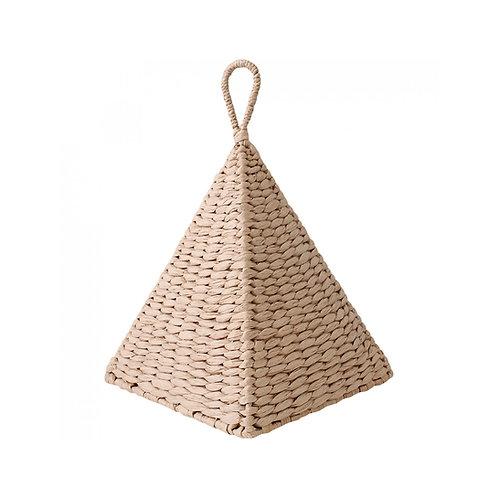 Pyramid Doorstop With Round Handle