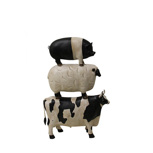 Cow, Pig and Sheep Stack