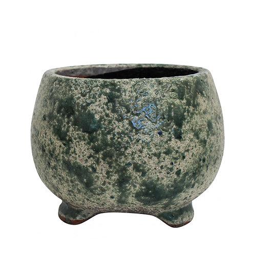 Round Jade Pot