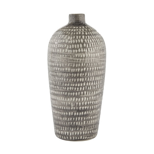 Cassandra Vase Dark Grey