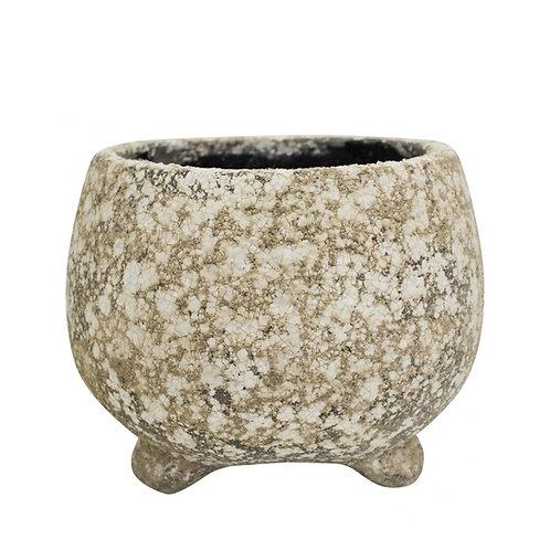 Round Mineral Pot