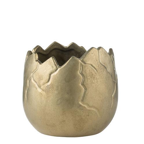 Vinnia Flower Pot Antique Gold