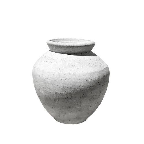 Mateo White Wash Pot