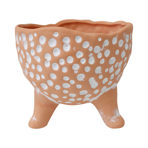 Dimples White Planter