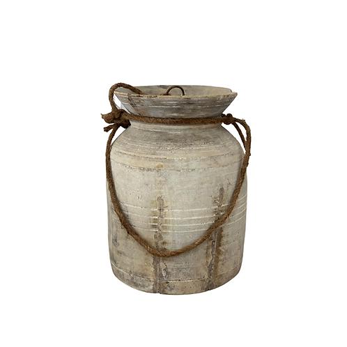 Vintage Indian Oil Urn