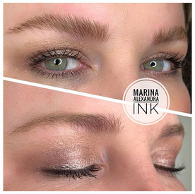 ✨🎄Brows✨ #permanentmakeup #cosmetictatt
