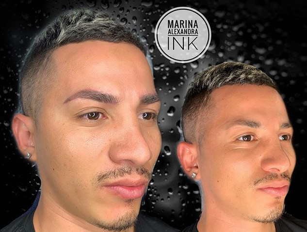 ✨Male brows✨ It's not just for women ☝🏼