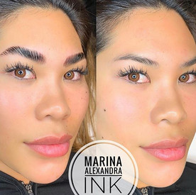 ✨Full Brows in under an hour✨ _#permanen