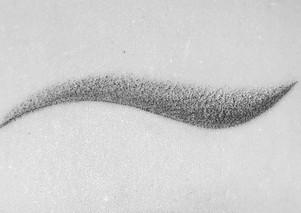 Shadow eyeliner #microblading #eyebrows