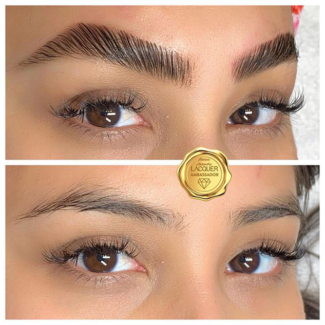 🌟Bold & Beautiful Brows with brow Lamin