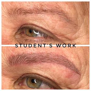 So good #microblading #eyebrows #microbl