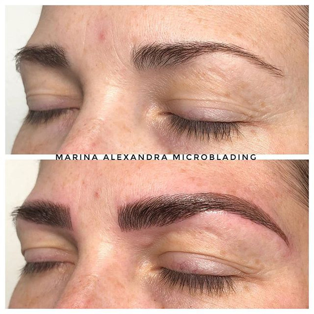 #microbladingeyebrows #microblading #eye