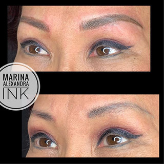 #permanentmakeup #cosmetictattoo #microb