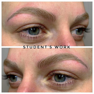 Student's first client 🤗 A job well don