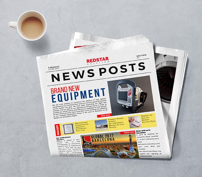 Redstar Newspaper