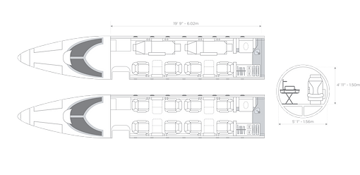 uçak çizim lear45-02.png