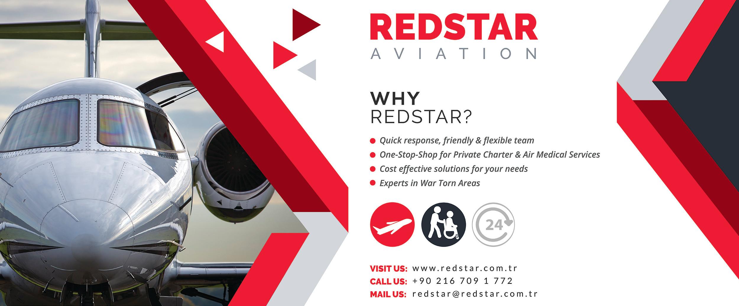 Redstar | Air Ambulance - MEDEVAC | Istanbul Turkey