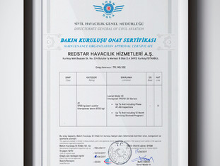 Maintenance Organisation Approval Certificate Part-145