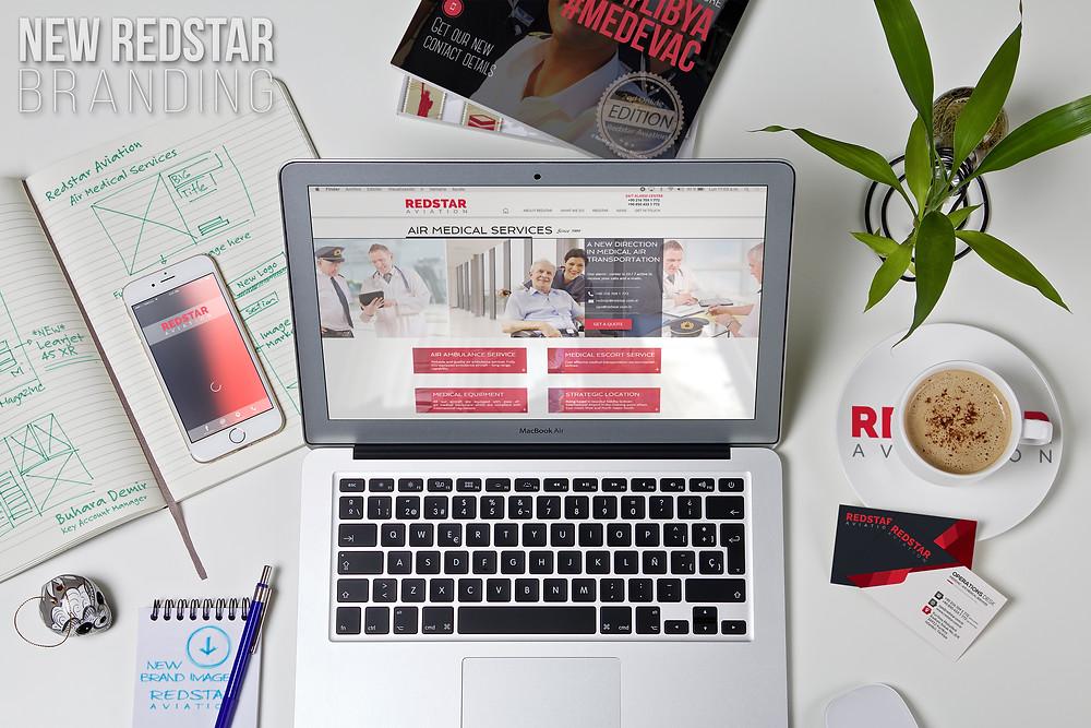 New Redstar Branding