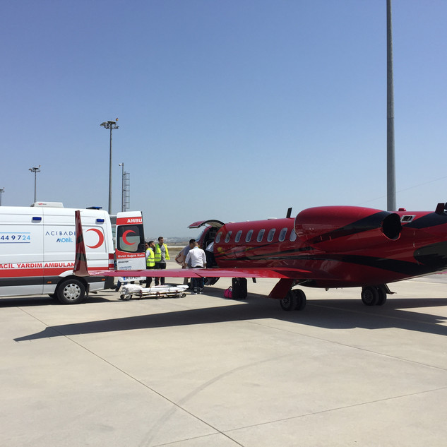 Learjet 45 Air Ambulance