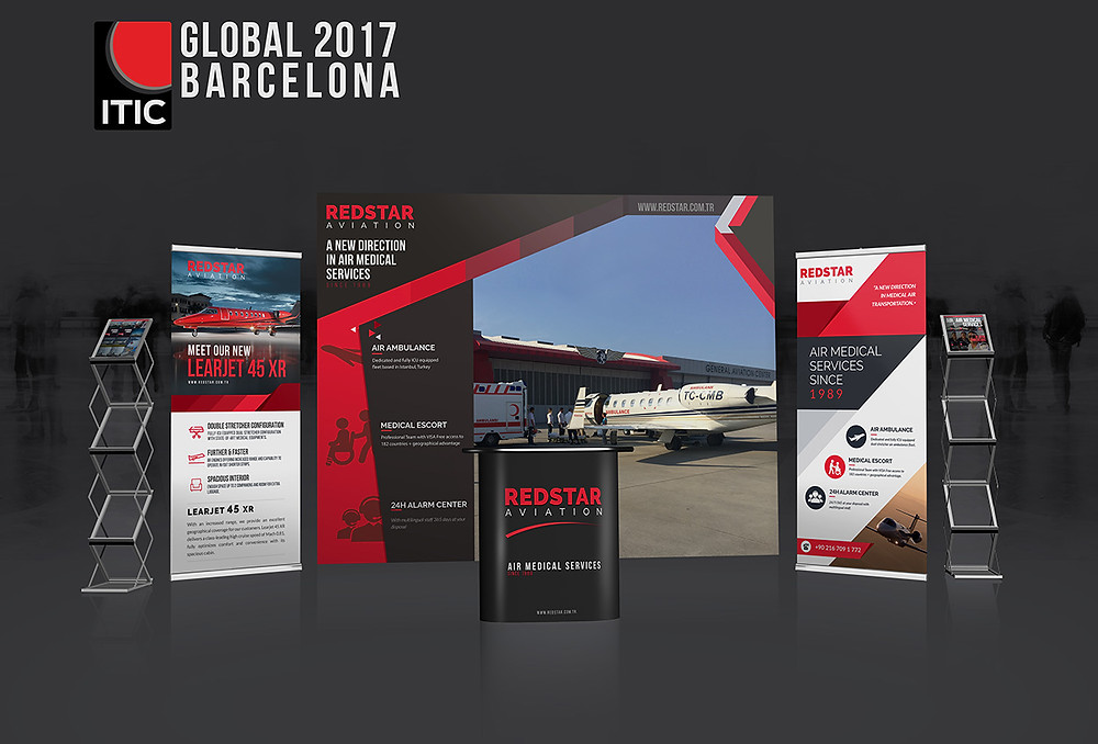 ITIC Global 2017 Redstar Booth