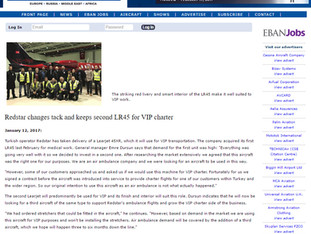 EBAN Magazine Article about Redstar