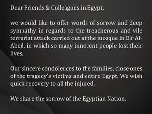 Message of condolence!
