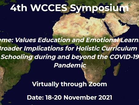 4th WCCES Symposium: chamada de comunicações aberta até ao dia 30 de setembro
