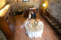 Sposi tavolo bomboniere