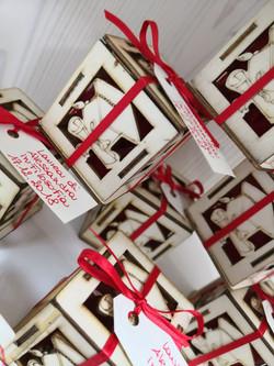 scatola porta confetti laurea