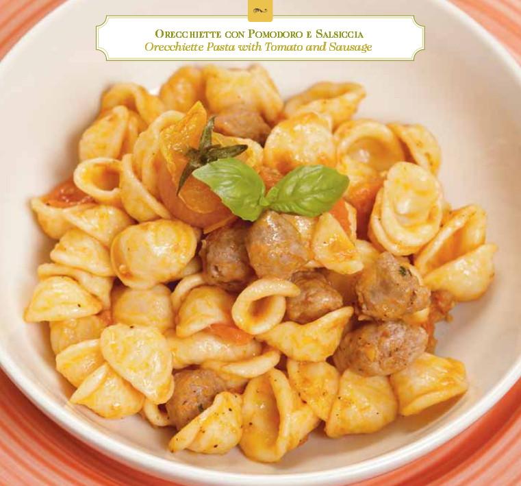 Orecchiette con Pomodoro e Salsiccia
