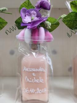 Bottiglietta crema alla Fragola