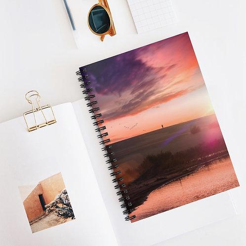 Sunset Dunes, OBX -Spiral Notebook